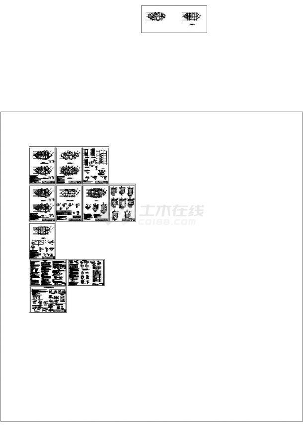 湿地公园安置房建筑图纸(含建筑说明)-图一