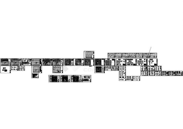 主次桁架屋面结构图纸(桁架学习必备图纸)-图一