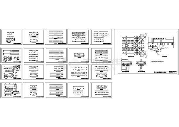 21种牌楼角科斗拱图集-图一