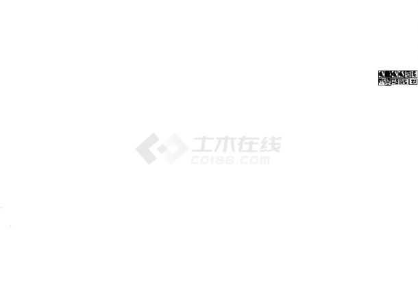 淮河源某广场园林景观施工图-图一
