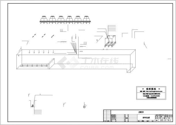 【黑龙江】铸造车间循环水泵房设计施工图-图一
