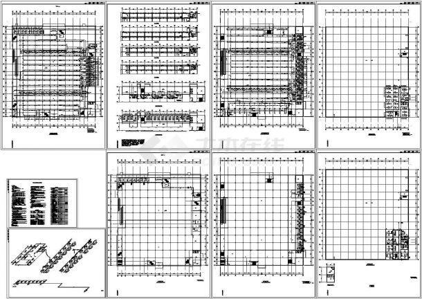 某大型超市建筑空调通风系统设计cad施工图(直燃型溴化锂,含设计说明)-图一