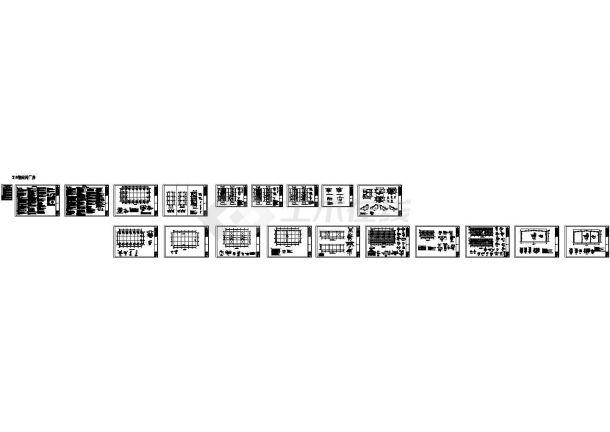 钢结构与混凝土结构结合的标准化生产厂房-图一