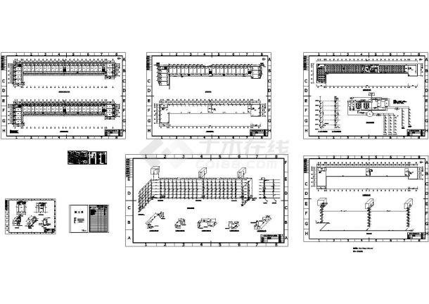值得下载的6层学生宿舍楼给排水施工图-图一