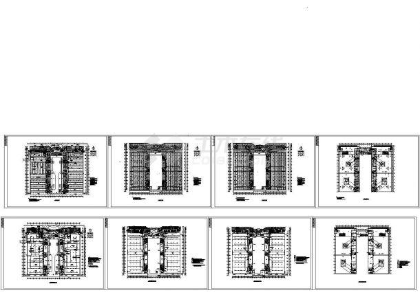 厂房电气施工图全(动力,系统、照明、弱电)-图一