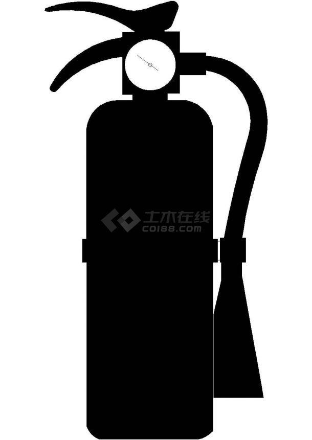 灭火器CAD图,纯手工画