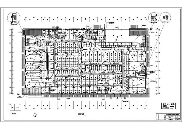 综合商场消防设计CAD电气施工图-图一