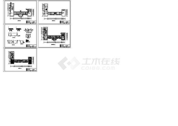 某地区办公楼地热采暖暖通工程设计图-图一