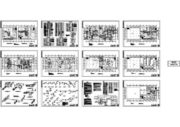 【北京】车间洁净系统暖通工程设计图-图一