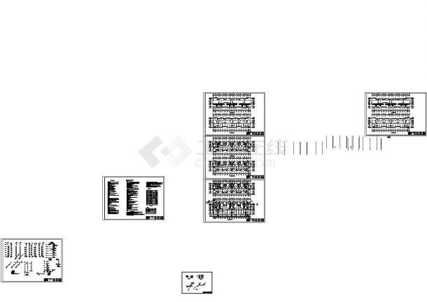 6+1砖混结构住宅 (建筑结构水电暖全套图纸)-图一