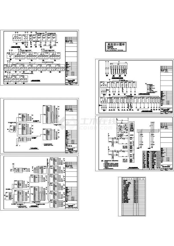 医疗工业厂房电气图纸-图一