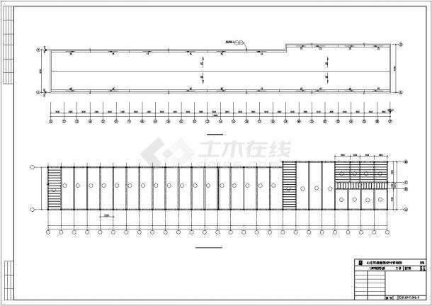 某110kv变电所电气cad典型设计图纸-图二