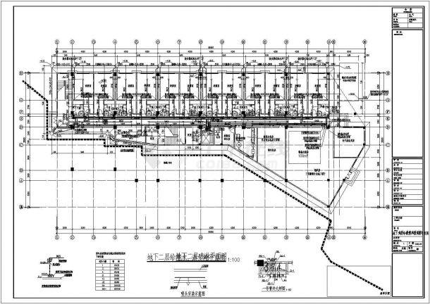 某地高层普通住宅楼给排水施工设计图-图一