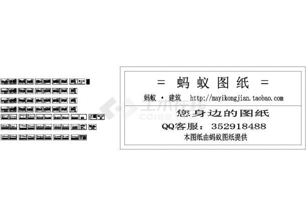 [福建]市政给排水及管线施工设计cad图纸-图一