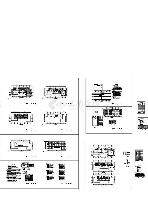 某15米办公楼电气设计方案CAD图-图一
