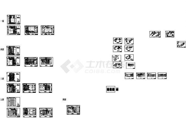 【温岭】某客运中心暖通全套施工设计CAD图纸-图一
