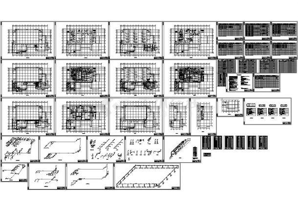 【湖北】某制剂车间暖通空调设计施工CAD图-图一