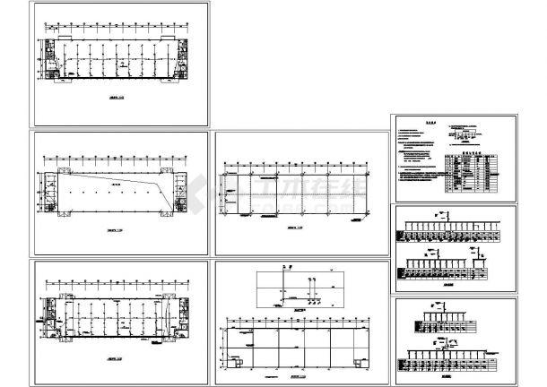 某2层2684㎡工业厂房电气施工设计图-图一