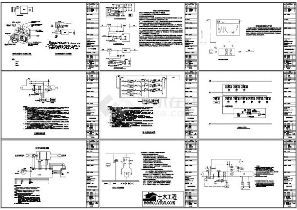 一整套变风量系统控制cad方案设计施工大样图(大院设计)-图一