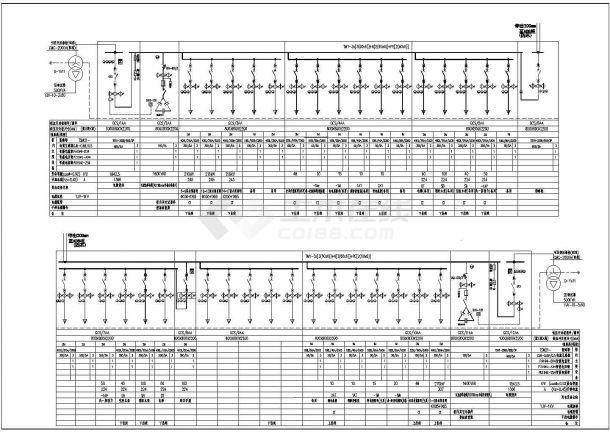 低压配电系统图新块CAD图-图一