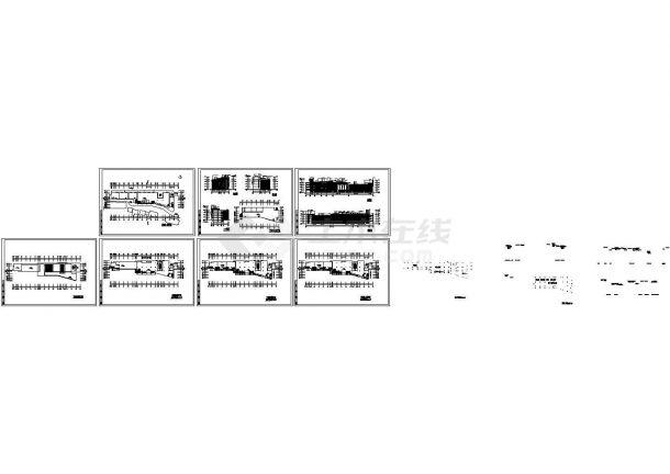 某地四层商业中心附bob电竞app设计图纸(带效果图)-图一