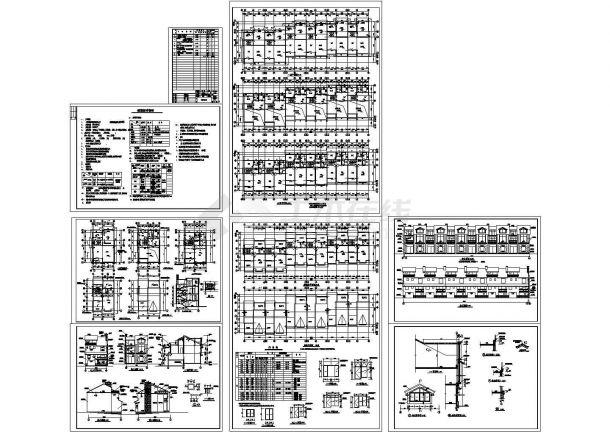 某联排别墅方案设计-图一