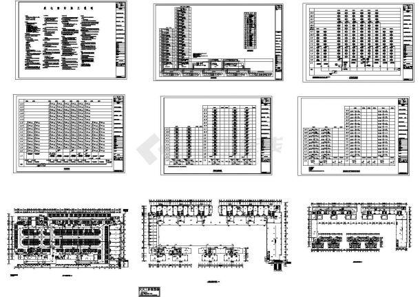 住宅楼电气设计施工图,共9张-图一