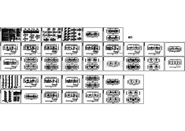 某1万平米地上二十层住宅楼电气设计施工图(三级负荷)-图一