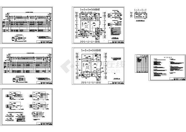动力中心改造工程电气图-图一