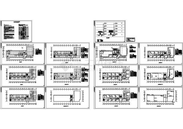 五层办公楼电气设计方案施工图系列-图一