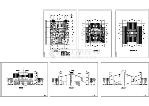 拼联式农民公寓bob电竞app设计图纸-图一