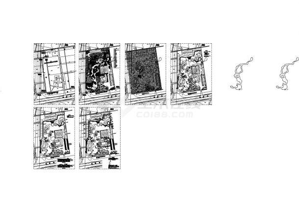 水乡农业生态园景观规划设计CAD施工图-图一