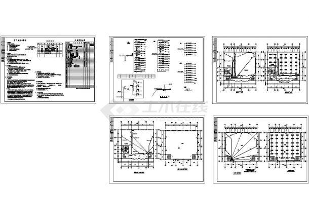 某会议中心电气设计施工图-图一