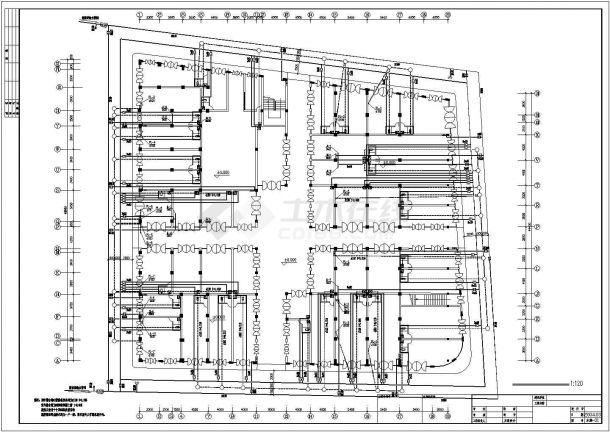 商住楼建筑给水排水cad设计施工图-图二