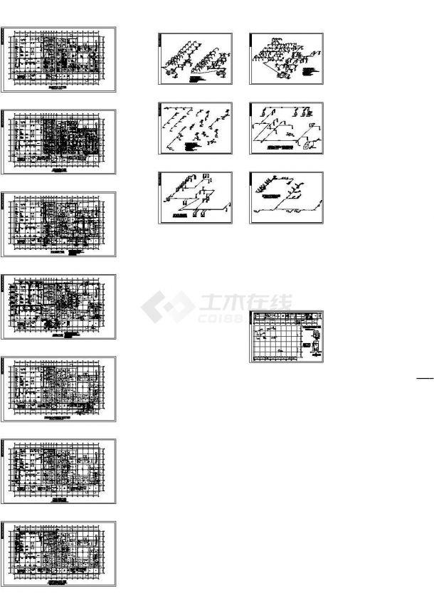 安徽某药厂空调通风暖通设计施工图-图一