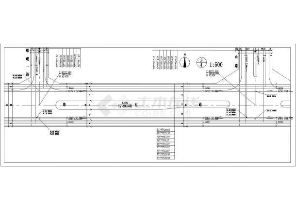 某市政道路管线综合规划cad设计施工图-图二