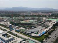 全球首座索承网格结构+ETFE膜结构体育场,BIM+装配式+智慧建造显身手