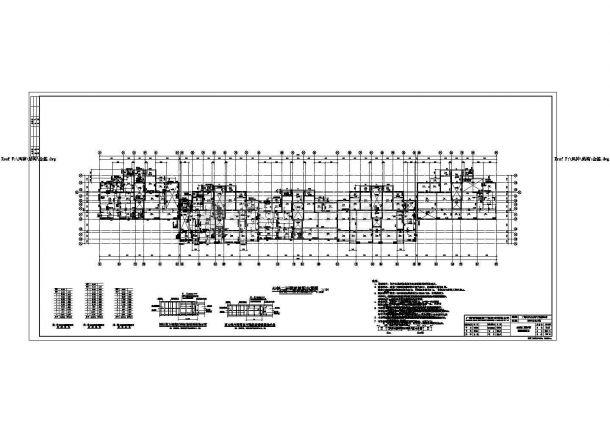 某现代都市小区住宅楼群建筑楼梯设计方案图-图一