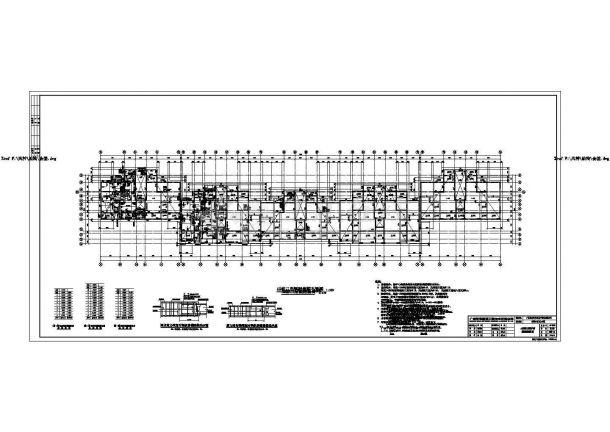 某现代都市小区住宅楼群建筑楼梯设计方案图-图二