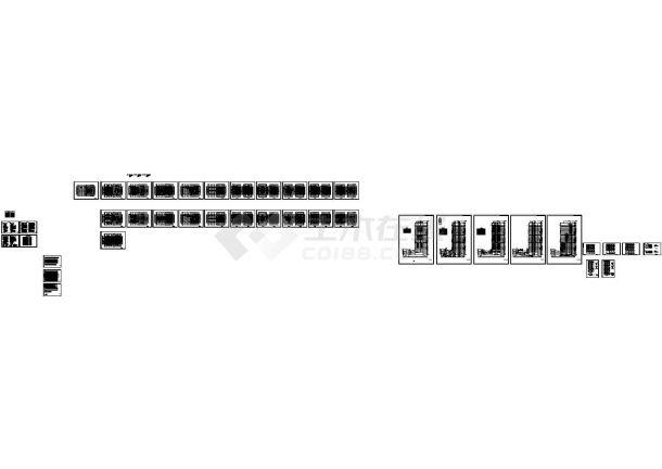超高层办公楼暖通空调全套88必发手机版登录设计CAD施工图-图一