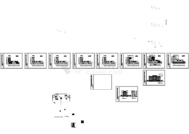 重庆南川市人大及政府办公大楼设计方案图-图二