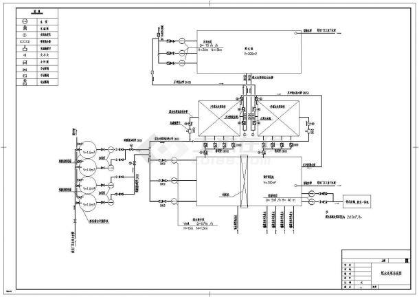 宁夏某电厂含煤废水处理系统给排水图纸-图二