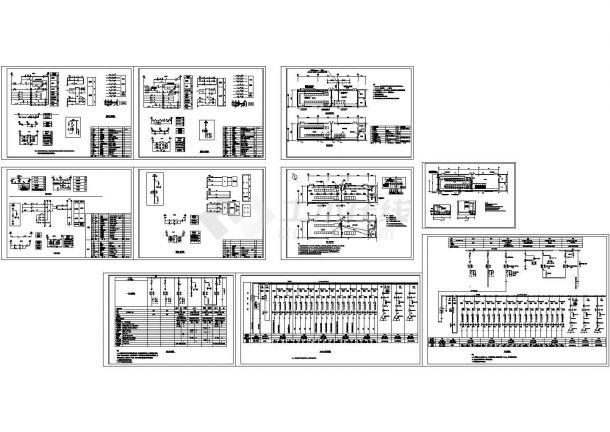 变电所电气图纸-图一