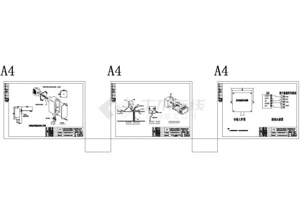 [广东]广州国际羽毛球培训中心智能化图纸-含监控系统 智能照明控制系统 电力监控系统 BMS集成管理系统-图一