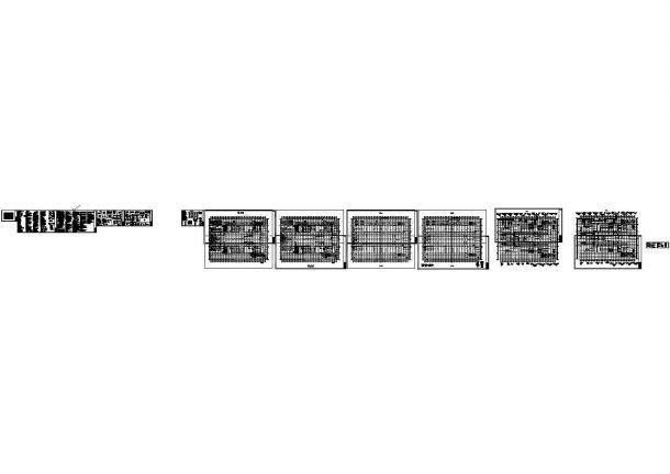 重庆美好智造绿色装配式建筑生产基地结构施工图-图一