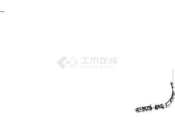 成都利通华阳住宅小区景观园林施工图-图一