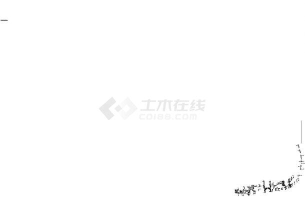 成都利通华阳住宅小区景观园林施工图-图二