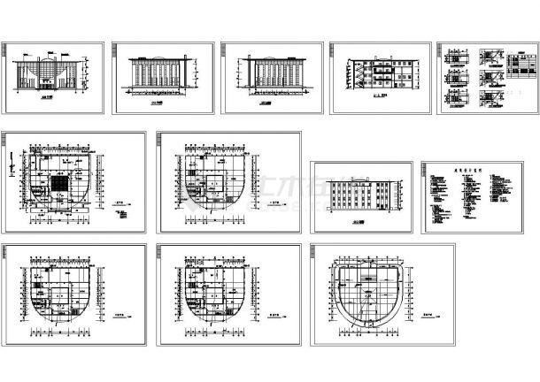 城建图书馆设计方案图-图一