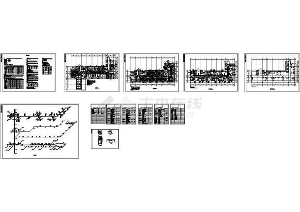 [江苏]医院手术部集中空调系统设计施工图-图一