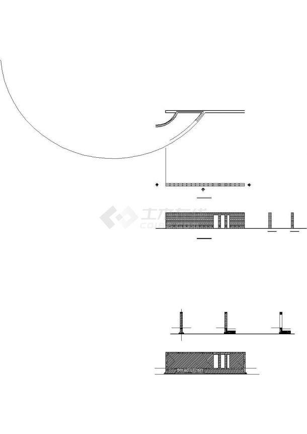 景墙节点详图-图二